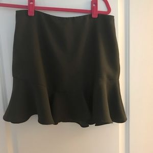Banana Republic Grey Flow Skirt